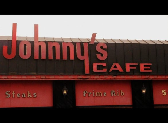 Johnny's serves old-school favorites like orange roughy, shrimp & steak, and chateaubriand.