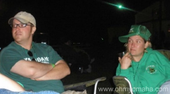 Mr. Wonderful and Iat our first Irish fest back in 2008. We were pretty cool, as you can tell.
