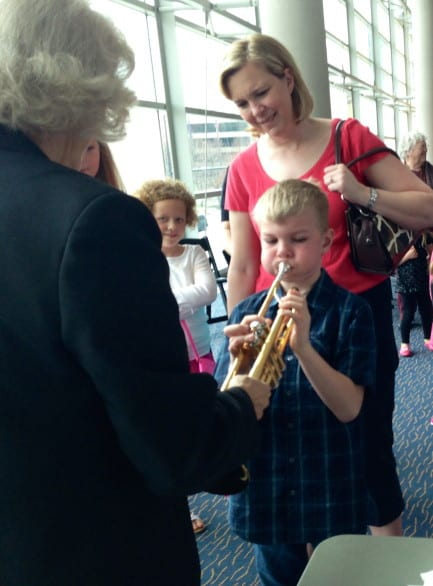 Introducing your child to the symphony shouldn't be intimidating. Photo courtesy the Omaha Symphony