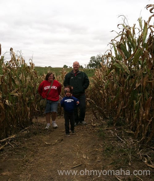 Where to pick apples near Omaha - Ditmars Orchard is the place to go, plus they have a corn maze