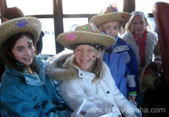 Ride the trolley with some of my nieces during our first ever Family Fest (in 2007).
