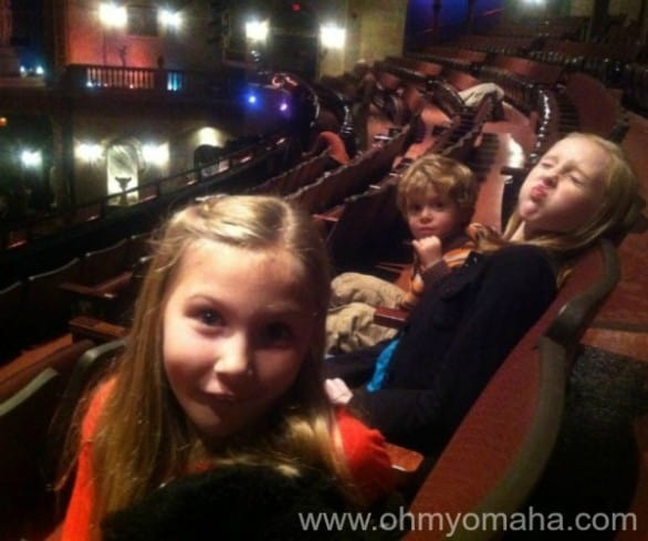 "I took two silly nieces and my son to see ""Madeline's Christmas"" last year at The Rose."