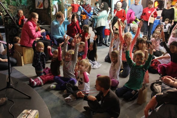 A lot of activities are planned for New Year's Eve at Omaha Children's Museum.