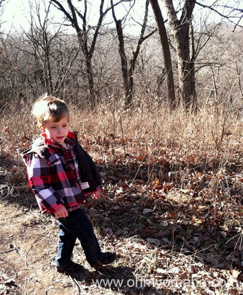 A hike at Fontenelle doesn't have to be strenuous, especially if you're bringing little ones along.
