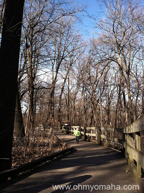 Exploring Fontenelle Forest With Kids