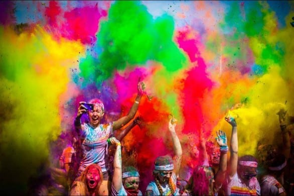 The Color Run comes to Omaha July 19, 2014.