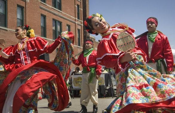 Ethnic festivals in Nebraska include the annual Cinco de Mayo celebration in South Omaha.
