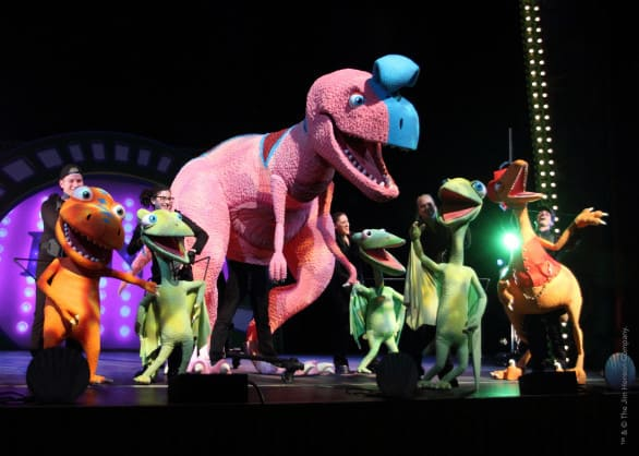 Dinosaur Train LIVE! is Friday, Jan. 23, 2015 at 7 p.m. at the Orpheum Theater.