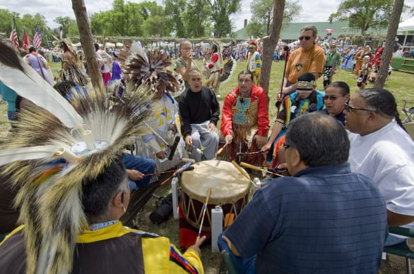 Fort Robinson holds the Inter Tribal Pow Wow every year. Photo courtesy Nebraska Tourism