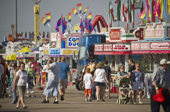 The Nebraska State Fair in 2011. Photo courtesy Nebraska Tourism