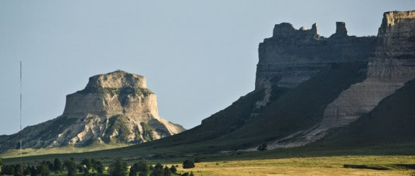 Scotts Bluffs National Monument. Photo courtesy Nebraska Tourism