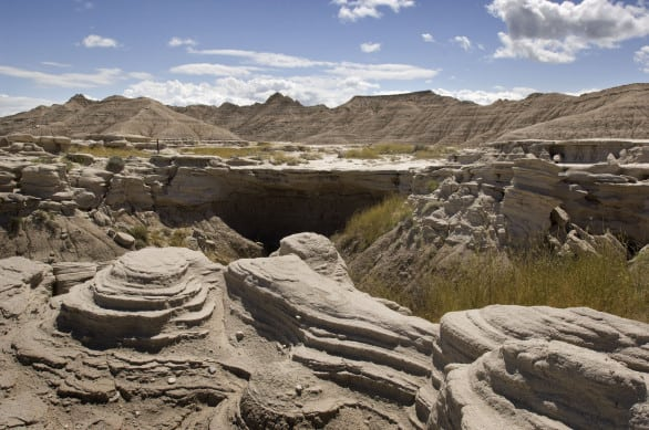 Toadstool rock formations. This does not look like a place in Nebraska, right?! Photo courtesy Nebraska Tourism