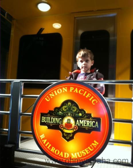 Farley at the Union Pacific Railroad Museum earlier this year.