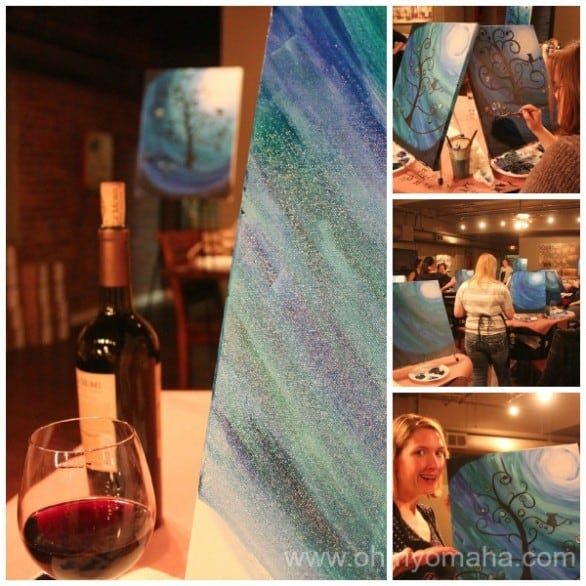 Vino Van Gogh Collage