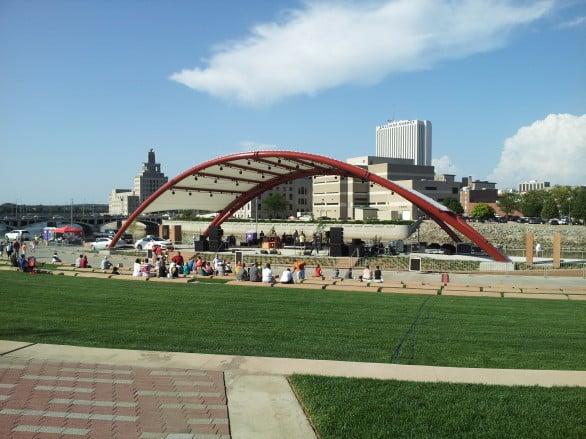 Cedar Rapids Amphitheatre. Photo courtesy Cedar Rapids Area Convention and Visitors Bureau