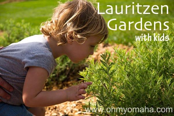 Lauritzen Gardens With Kids