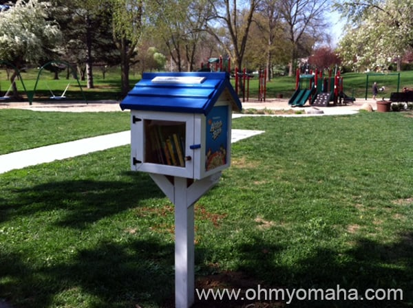 Little Free Library Is At Metcalfe Park