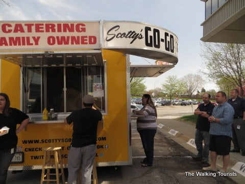 Scotty's Go-Go food trucks sets up business daily, rotating between the DTN building on Dodge Street and the food truck park in NoDo.