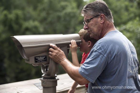 Lookout at Nebraska Wildlife Safari