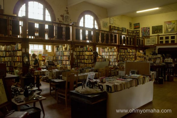 Book lover's heaven, Antiquarium.