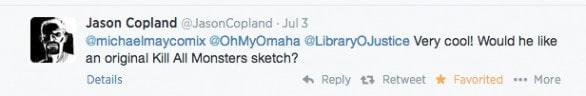 Jason Copland tweet