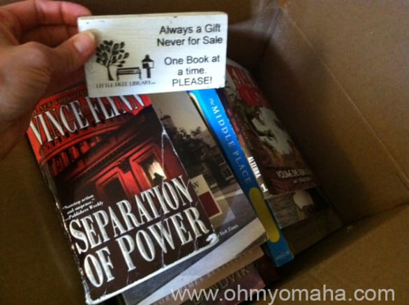Library of Justice to the rescue with a box of literary goodies.