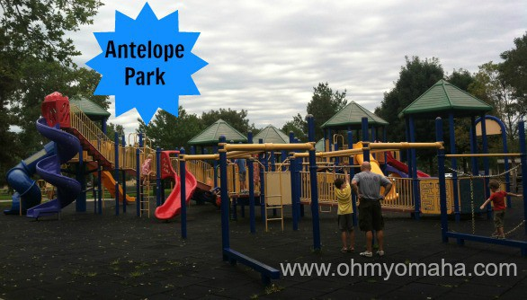 Antelope Park is located near the Lincoln Children's Zoo. It has wheelchair accessibility and a separate playground for younger children.