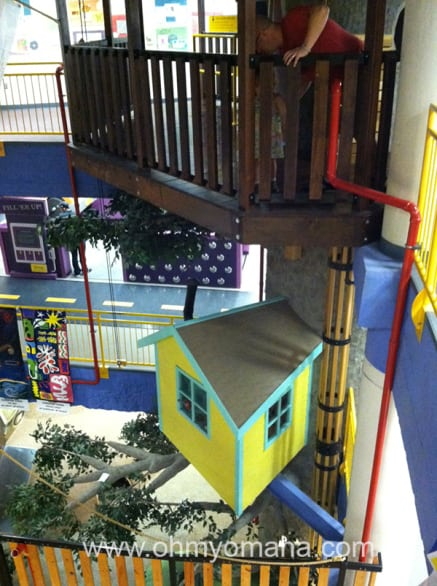 Inside the Lincoln Children's Museum in Nebraska