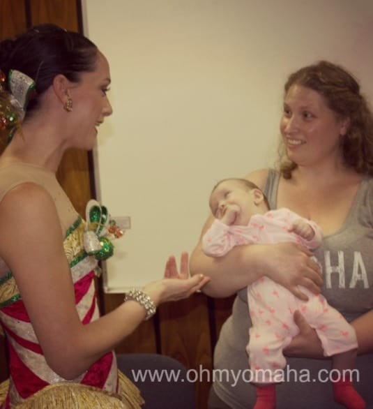 Rachel chats with my sister and little Sophie about her road from preemie to Rockette.