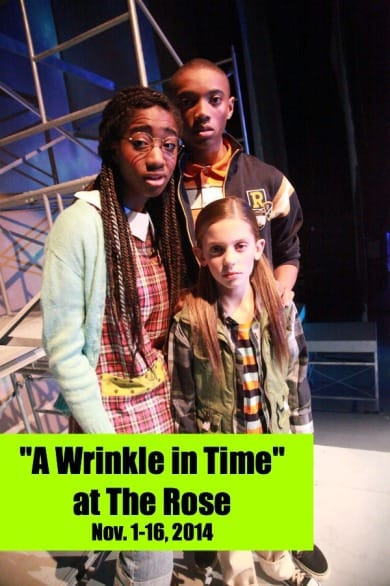 """A Wrinkle In Time"" opens Nov. 1 at The Rose. Photo courtesy MJB Photography."
