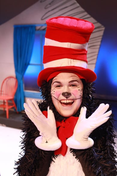 Noah Diaz portrays The Cat in The Hat - and he's fantastic.