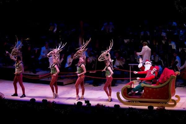 Santa and Omaha Symphony