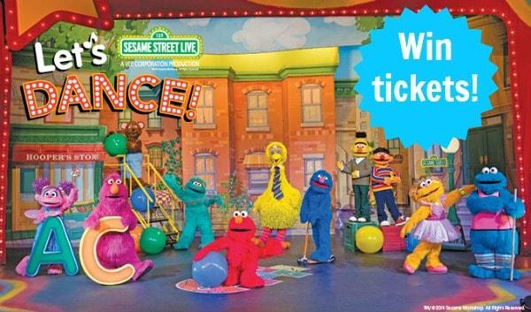 """Sesame Street Live """"Let's Dance!"""" + Giveaway"""