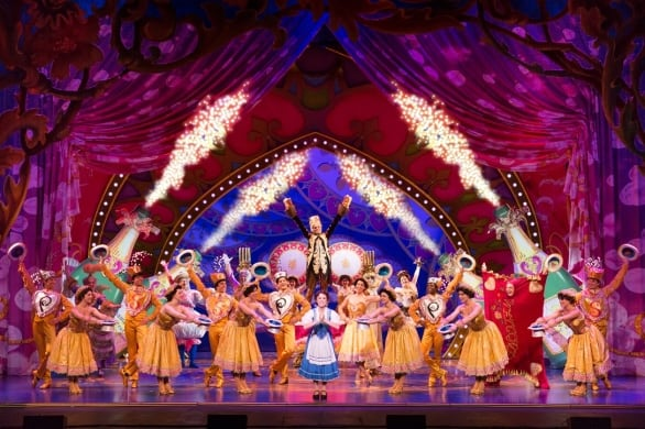 """The cast of Disney's """"Beauty and the Beast."""" Photo courtesy Matthew Murphy"""