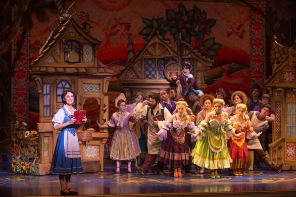 """Jillian Butterfield is Belle in the touring Broadway production of Disney's """"Beauty and the Beast,"""" at the Orpheum Theater in Omaha this Friday through Sunday. Photo courtesy Matthew Murphy"""