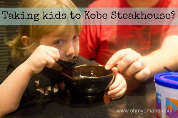 Kobe Steakhouse With Kids