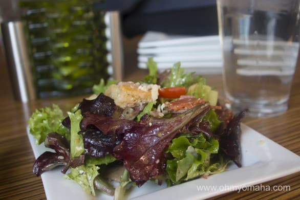 The Tuscan salad at Zurlo's Bistro - a new-to-me restaurant.