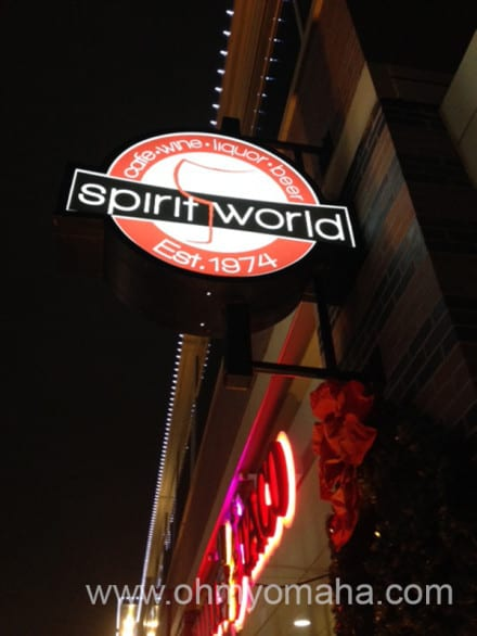 Locally-owned Spirit World is located at Aksarben Village.