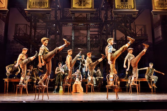 "The Omaha premiere of ""Disney's Newsies"" is Feb. 16-21, 2016 at the Orpheum Theater. Photo by Deen van Meer"