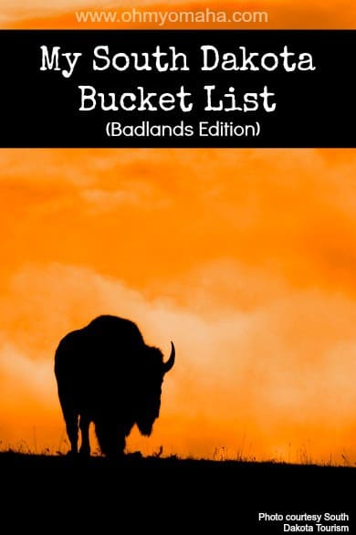 South Dakota Bucket List - Fun things to do, see, and eat in the Badlands of South Dakota #SouthDakota #BucketList