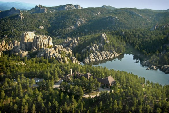 South Dakota Bucket List - Visit Sylvan Lake at Custer State Park in South Dakota