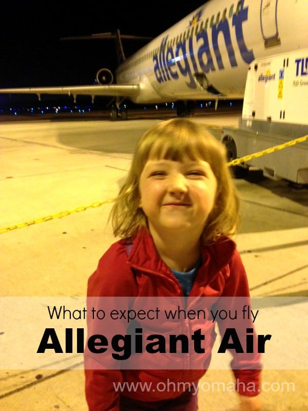 What To Expect When Flying Allegiant Air Ohmy Omaha