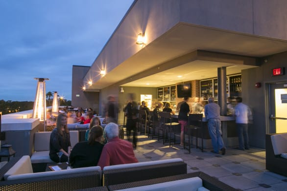 Don't you just want to end your day at a rooftop bar like this? Not with kids you don't.