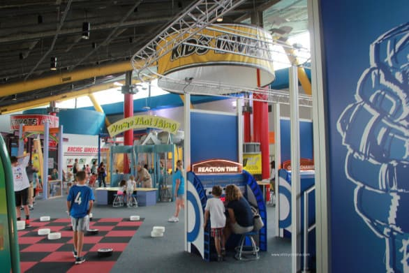 The Kids in Charge building at MOSI has activities perfectly suited for toddlers, preschoolers and grade schoolers.