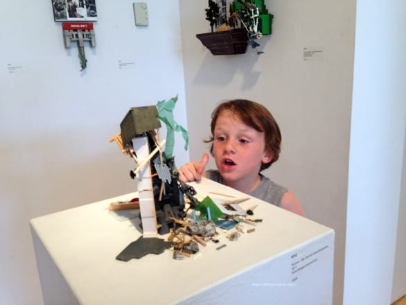 My friend's son really liked the Morean Arts Center. I forsee hot-glued  action figures and found art in his future.