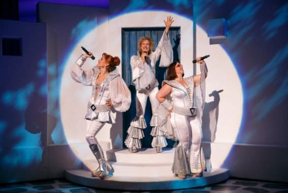 """Mamma Mia"" runs April 24-26 at Omaha's Orpheum Theater."