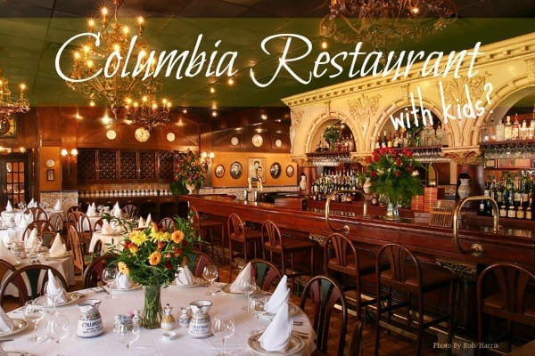 Going To Columbia Restaurant With Kids