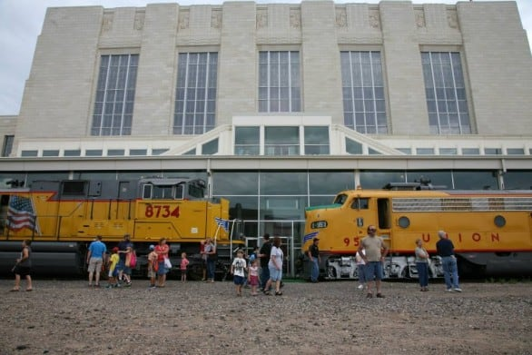 Special events at The Durham - One of the most popular annual events is Railroad Days every July. The Durham Museum is one of the stops for the event.