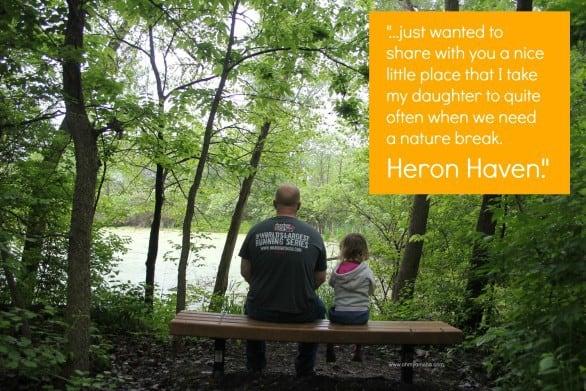 Heron Haven quote - An intro to Heron Haven, a hidden gem of a refuge in the heart of Omaha, Nebraska