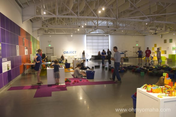 """The first space of """"Play"""" at Kaneko."""